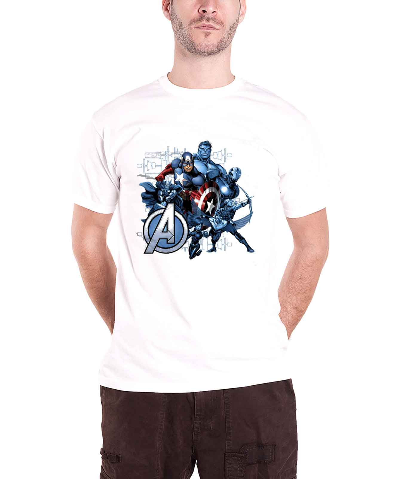 Captain-America-T-Shirt-official-Marvel-civil-war-daredevil-Thor-Hulk-Iron-Man