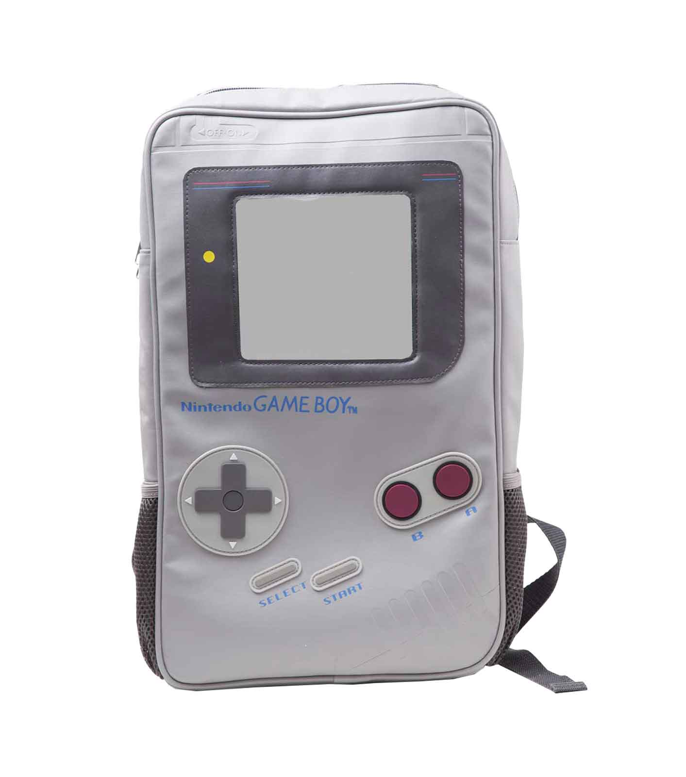 Details about Game Boy Backpack console Shaped new Official Retro Gamer  Nintendo grey One Size