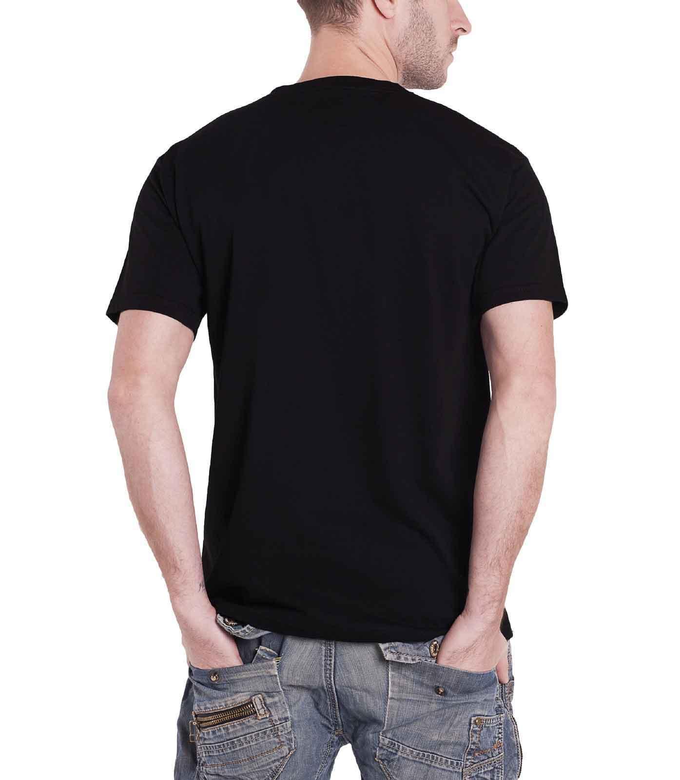 Down-Mens-T-Shirt-Black-Smoking-Jesus-Face-band-logo-official thumbnail 2