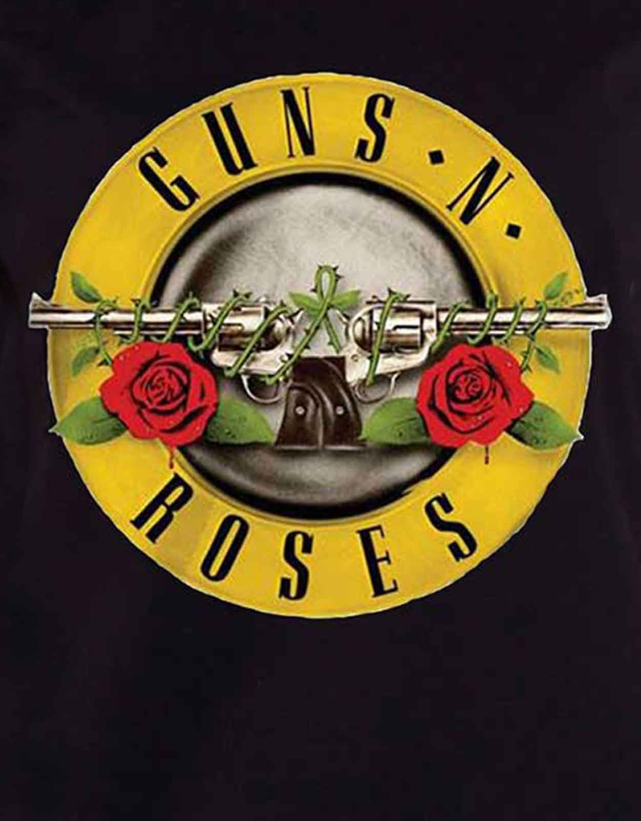 Guns-N-Roses-T-Shirt-Appetite-Bullet-band-Logo-Official-Womens-Skinny-Fit thumbnail 13