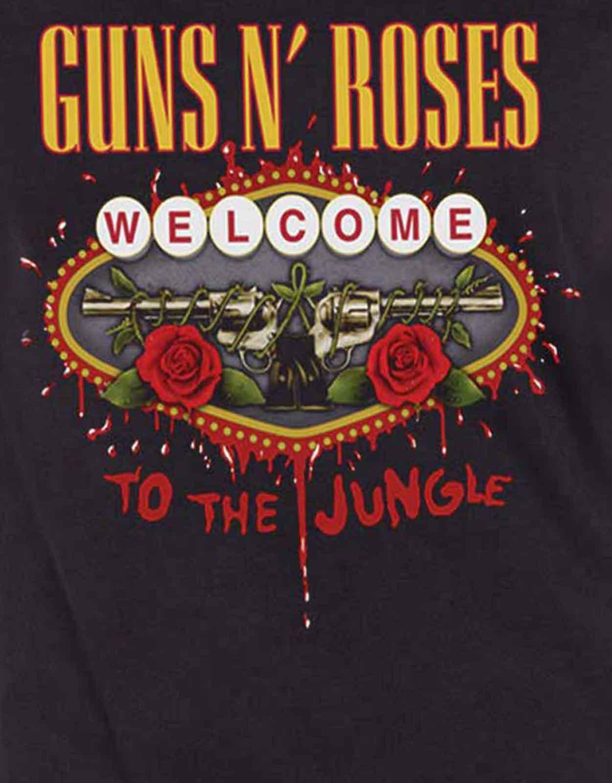 Guns-N-Roses-T-Shirt-Appetite-Bullet-band-Logo-Official-Womens-Skinny-Fit thumbnail 19
