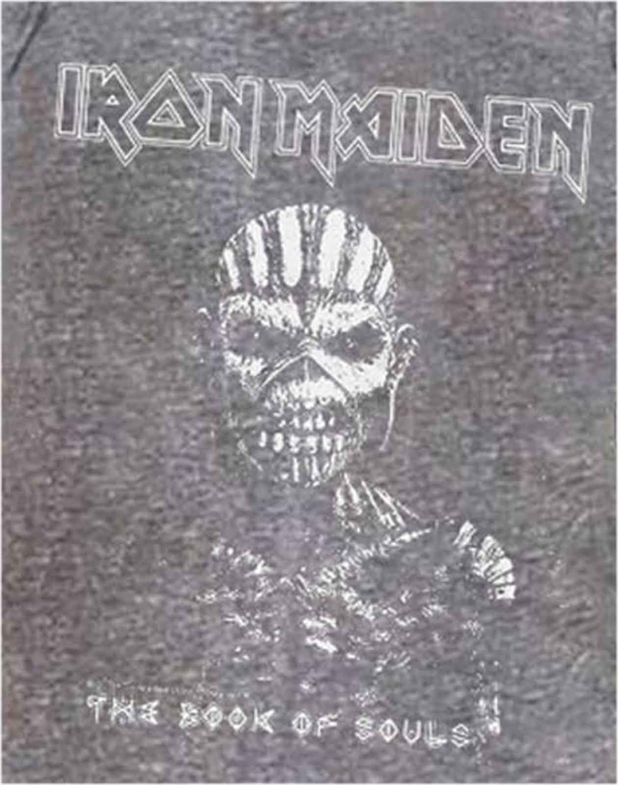 Officiel-IRON-MAIDEN-t-shirt-Book-of-Souls-Trooper-tueurs-Tour-Band-Logo-Homme miniature 21