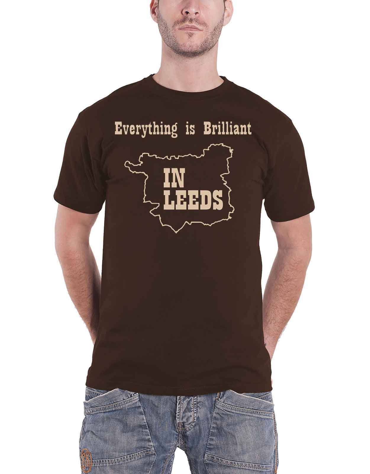 Official T Shirt *Sale Kaiser Chiefs /'Everything Is Brilliant In Leeds/'
