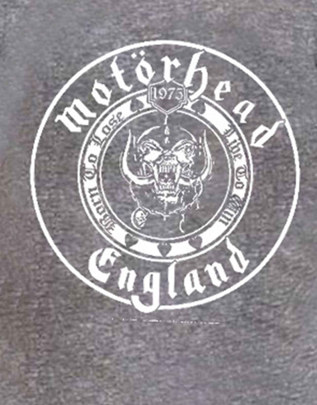 Motorhead-T-Shirt-Lemmy-RIP-England-warpig-clean-your-clock-official-new-mens miniature 31