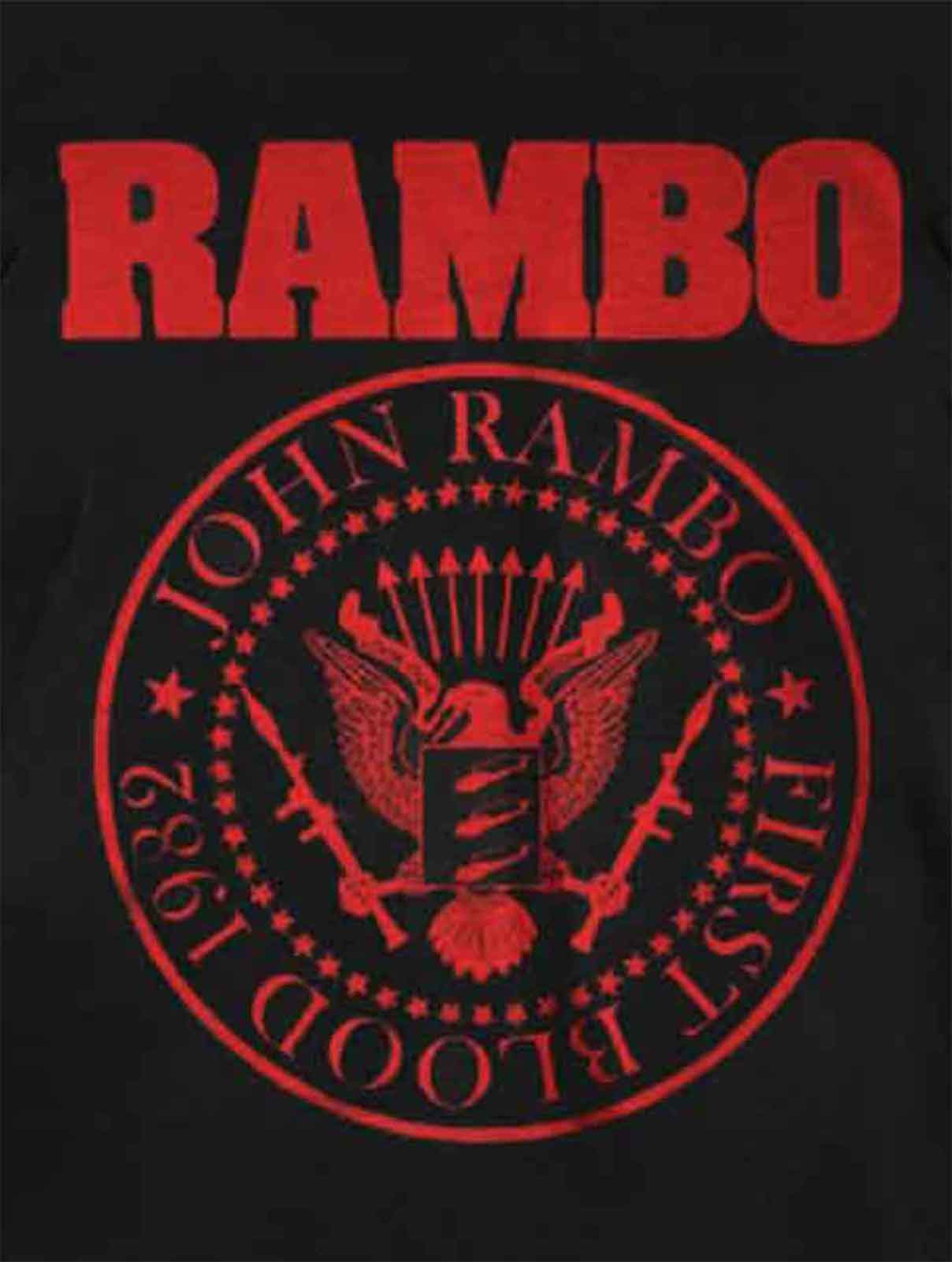 NEW MENS T-SHIRT First Blood 1982 Rambo