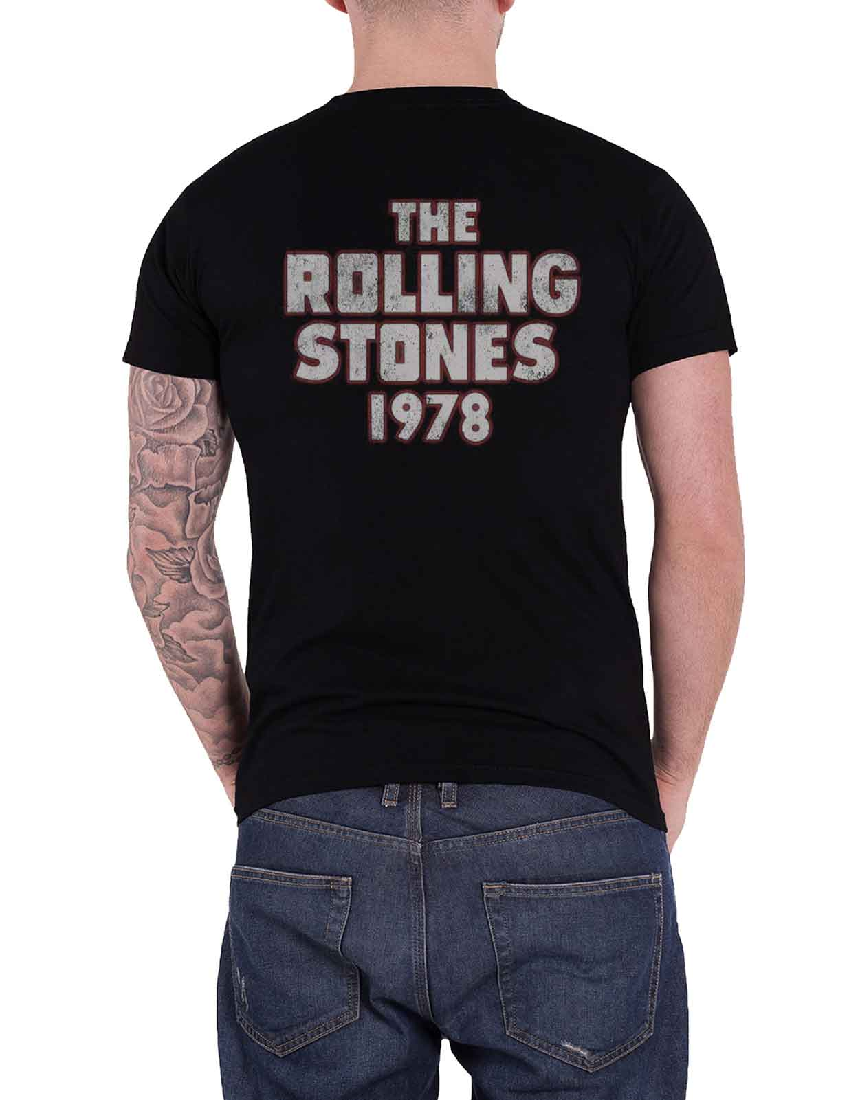 The-Rolling-Stones-T-Shirt-band-logo-No-Filter-tongue-tour-Jagger-Keith-mens