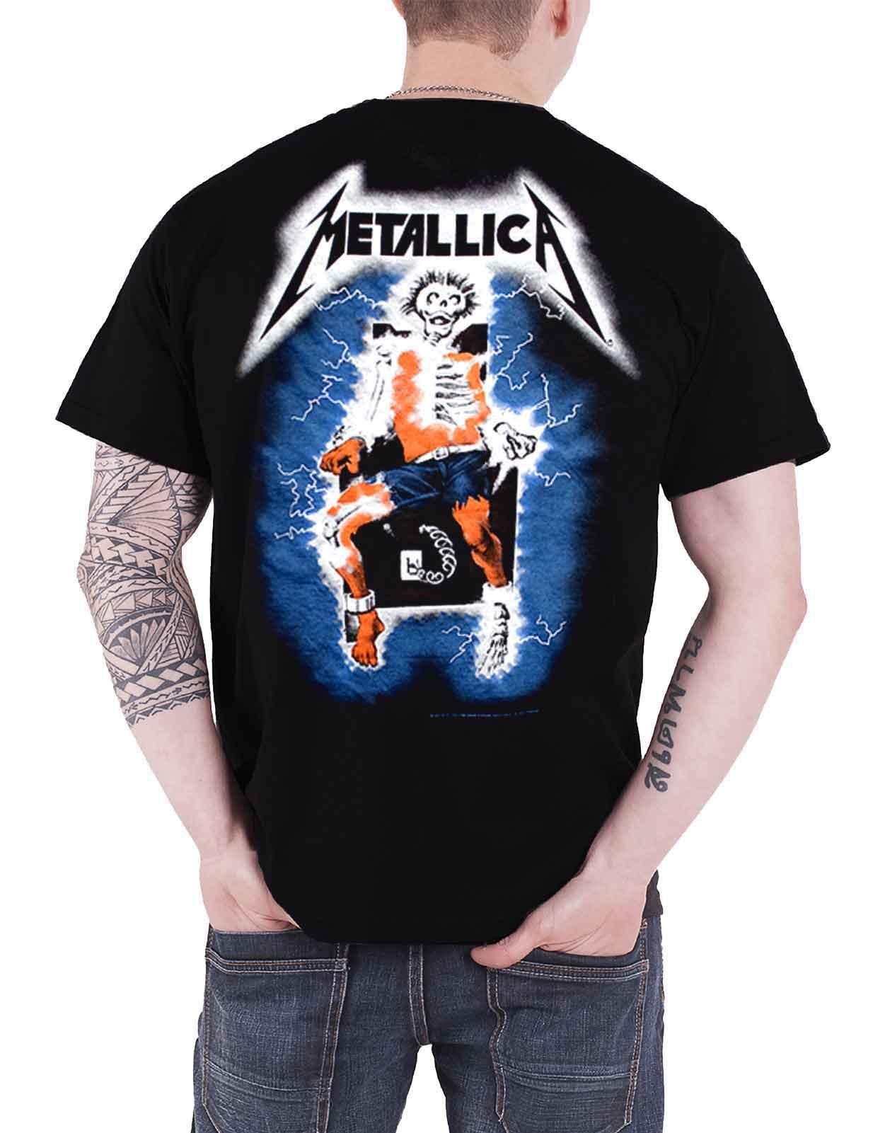 Officiel-Metallica-T-shirt-filaire-justice-for-all-RTL-Band-Logo-Homme-Nouveau miniature 29