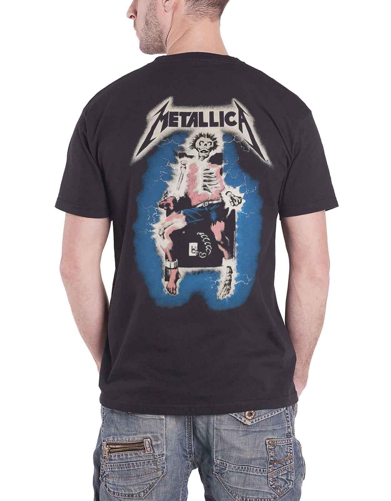 Officiel-Metallica-T-shirt-filaire-justice-for-all-RTL-Band-Logo-Homme-Nouveau miniature 43