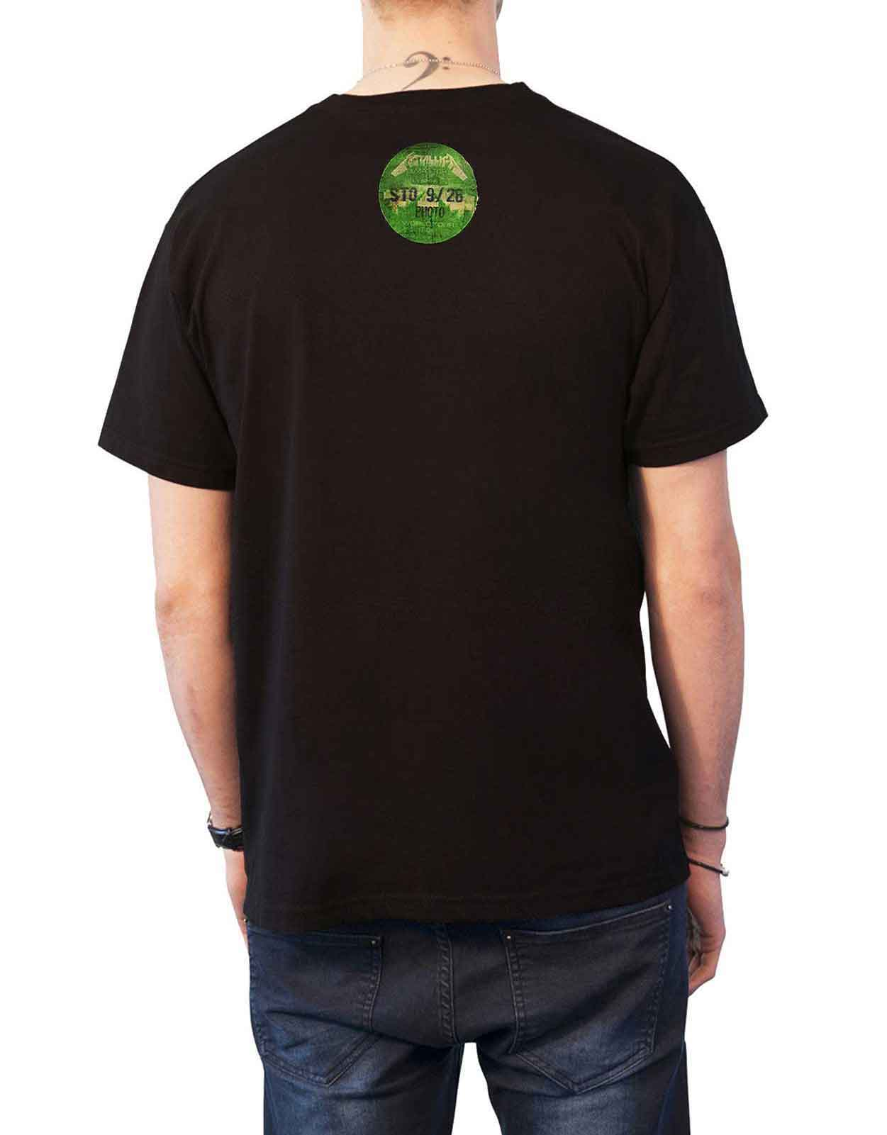 Officiel-Metallica-T-shirt-filaire-justice-for-all-RTL-Band-Logo-Homme-Nouveau miniature 47