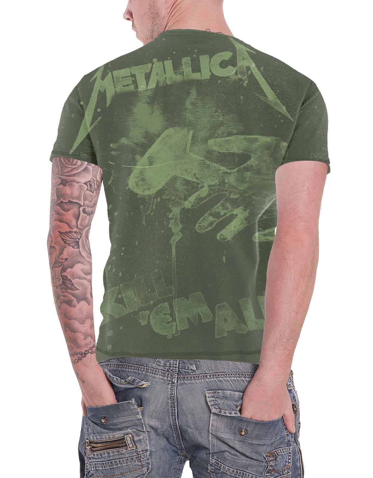 Officiel-Metallica-T-shirt-filaire-justice-for-all-RTL-Band-Logo-Homme-Nouveau miniature 31