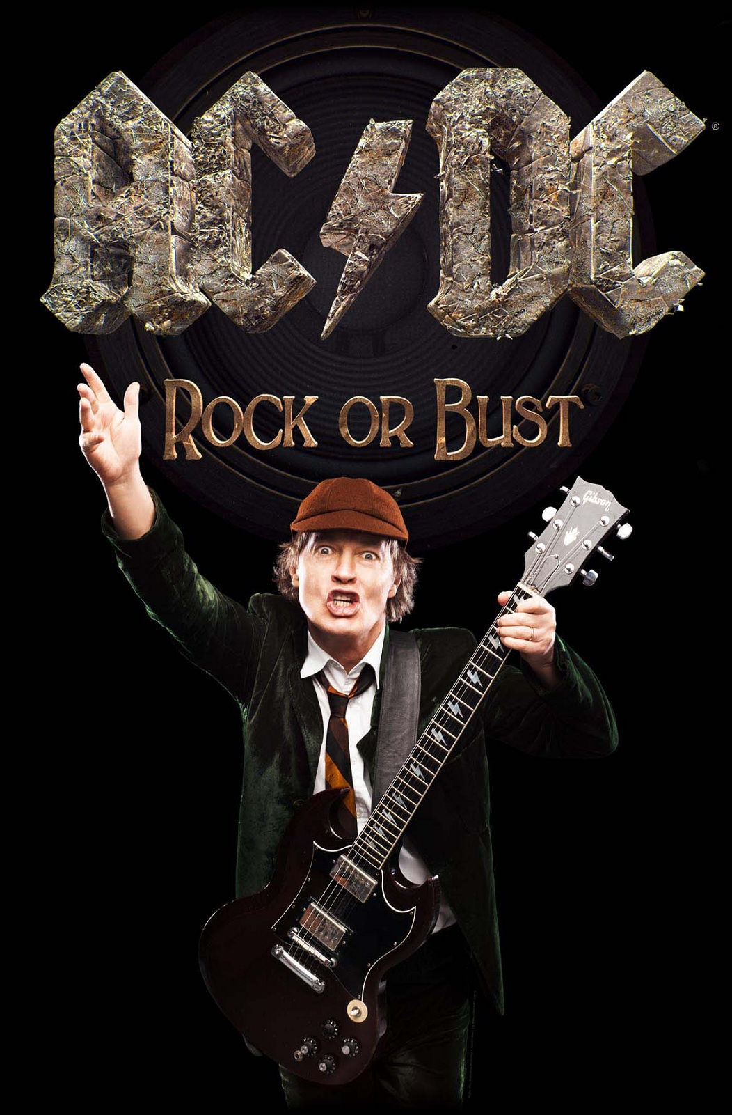 AC/DC Poster Highway to hell Rock or Bust Black Ice band ...
