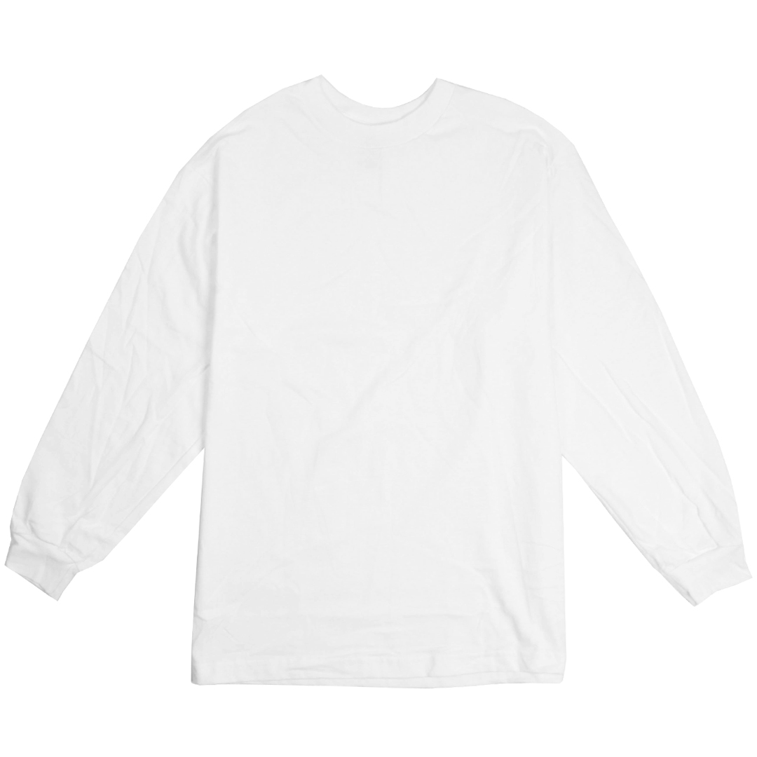 Alstyle apparel aaa plain blank men 39 s long sleeve t shirt Mens long sleeve white t shirt