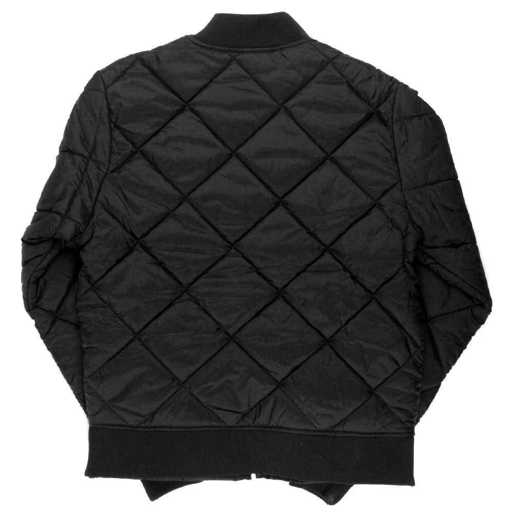 Dickies-Diamond-Quilted-Nylon-Jacket-Men-039-s-Zip-Up-Fleece-Lined-Style-61242 thumbnail 3