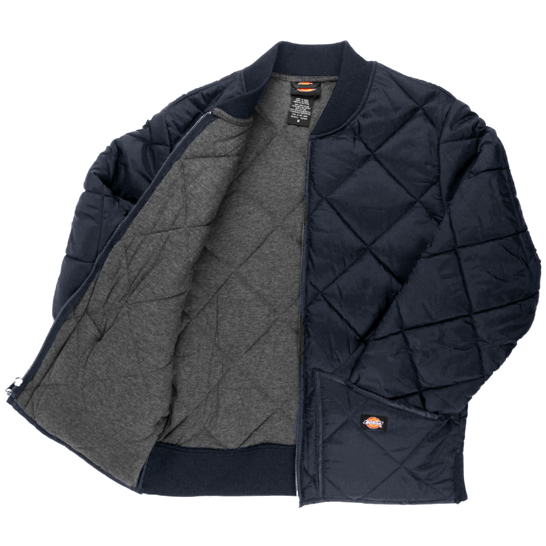 25860526e7aa Dickies 61242 Quilted Jacket Men s 6 Oz Diamond Quilt Choose Color ...