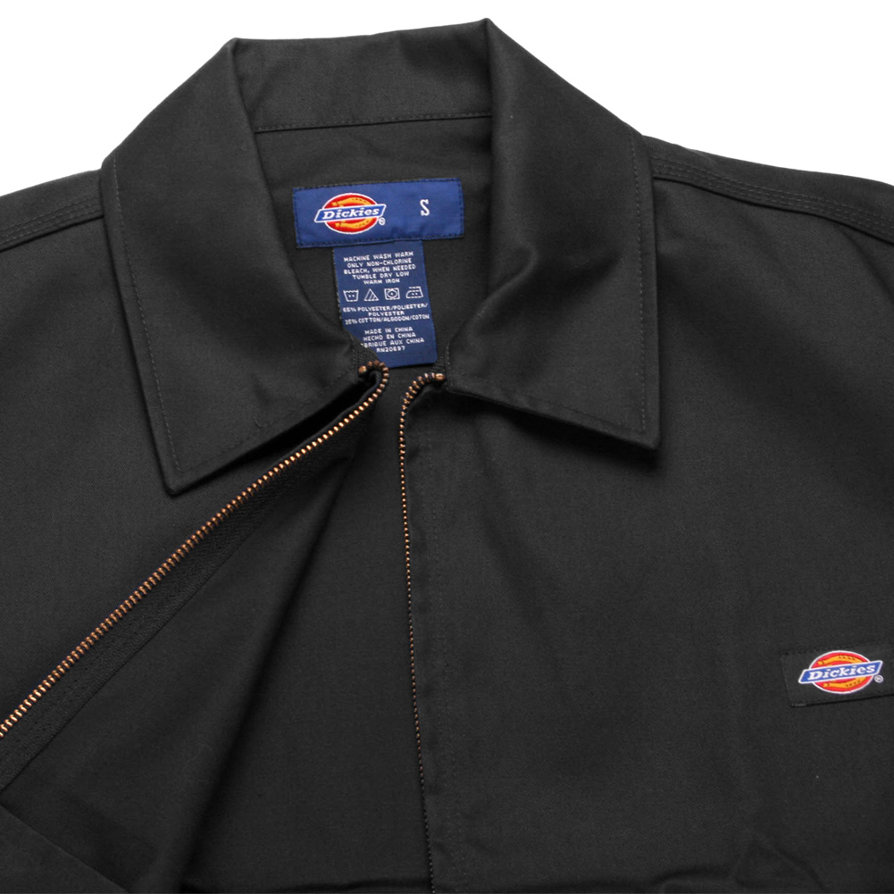 Dickies-UNLINED-Eisenhower-Jacket-Men-039-s-Zip-Up-Working-Uniform-Style-JT75 thumbnail 4