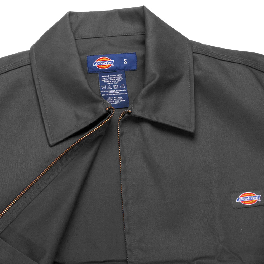 Dickies-UNLINED-Eisenhower-Jacket-Men-039-s-Zip-Up-Working-Uniform-Style-JT75 thumbnail 7