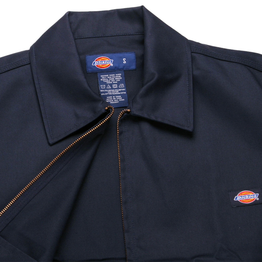 Dickies-UNLINED-Eisenhower-Jacket-Men-039-s-Zip-Up-Working-Uniform-Style-JT75 thumbnail 10