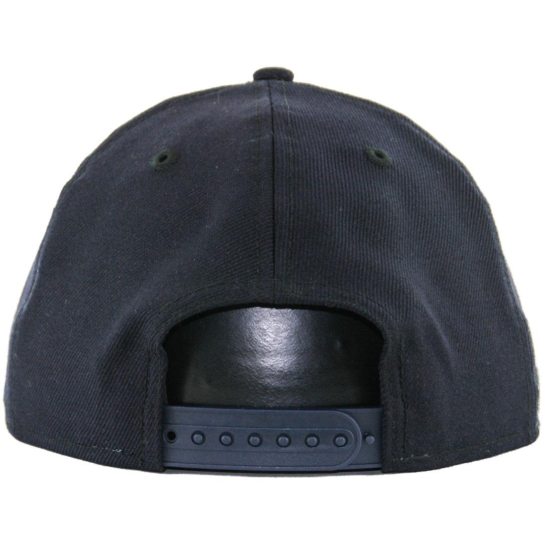 New Era 9Fifty Plain Blank Snapback Hat Original Uniform ...