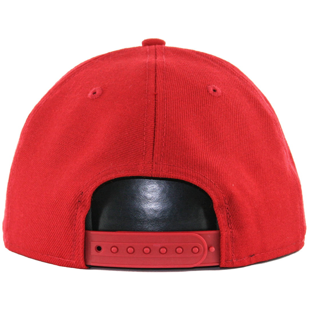 New-Era-9Fifty-Plain-Blank-Snapback-Hat-Original-Uniform-Cap-Black-Navy-Red thumbnail 6