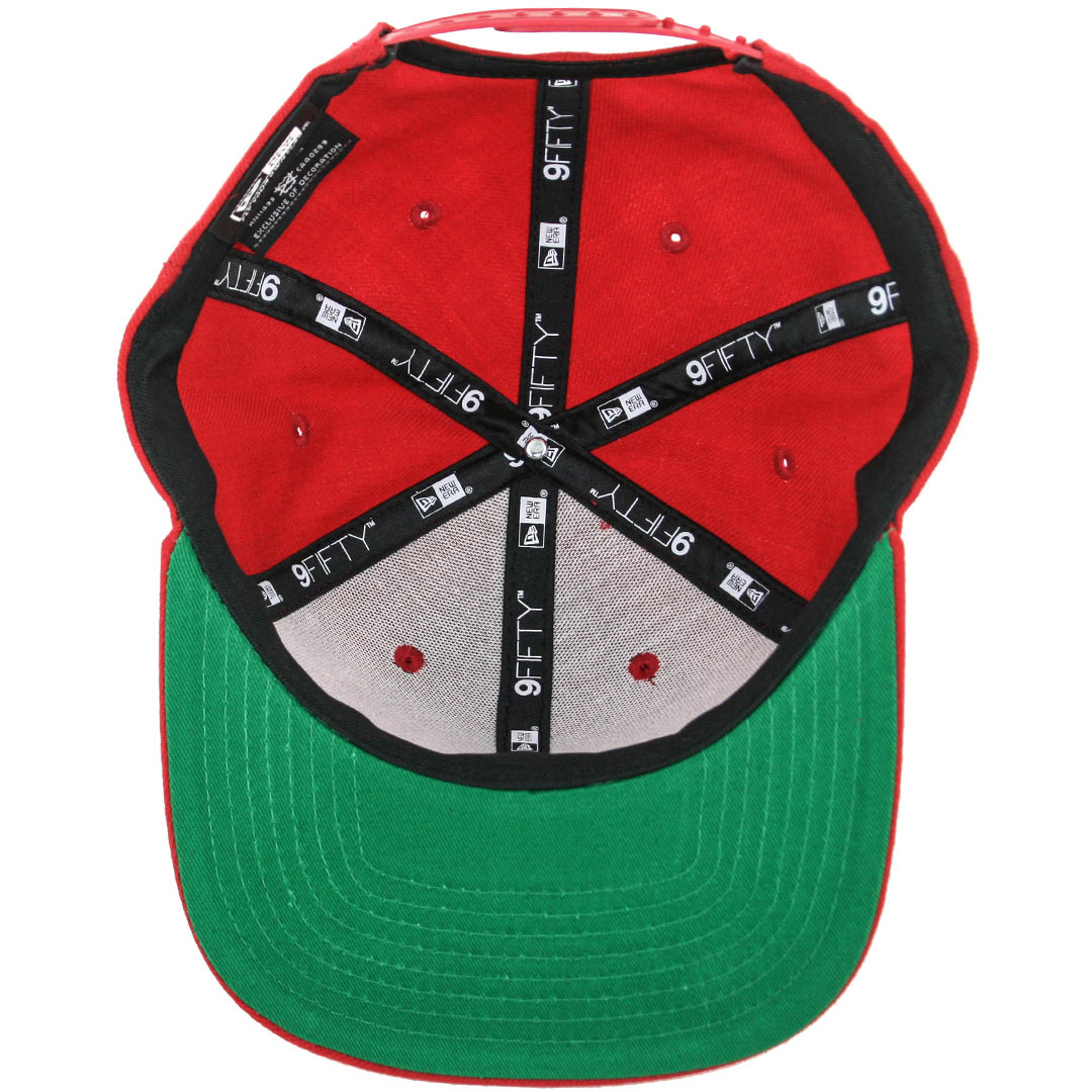 New-Era-9Fifty-Plain-Blank-Snapback-Hat-Original-Uniform-Cap-Black-Navy-Red thumbnail 7