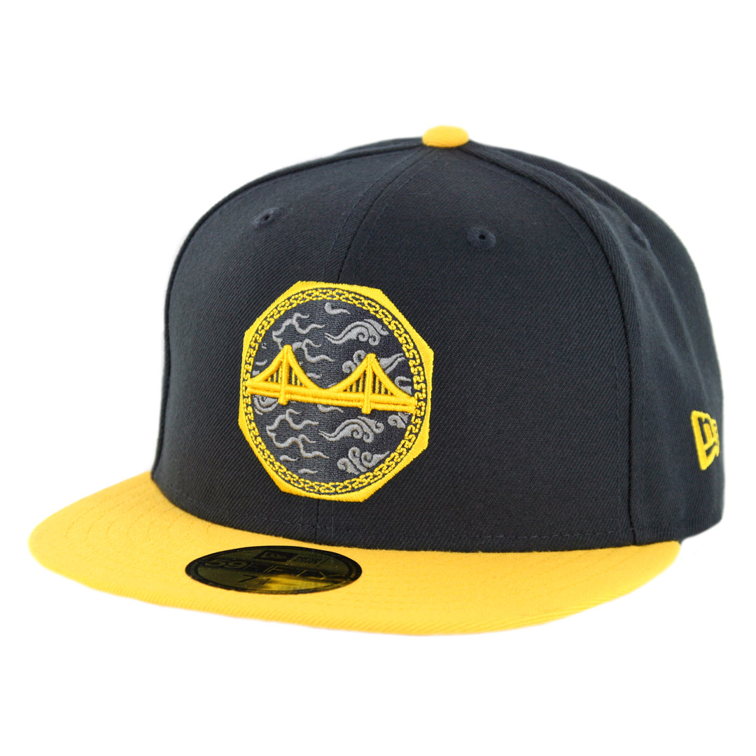 ab4dbbfa4 New Era 5950 Golden State Warriors 2018