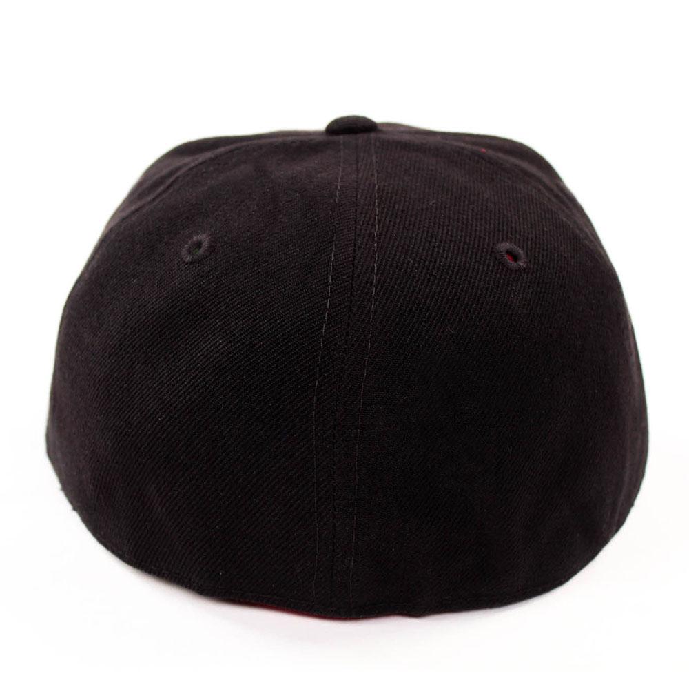 New-Fitted-Baseball-Hat-Cap-Plain-Basic-Blank-Color-Flat-Bill-Visor-Ball-Sport thumbnail 20