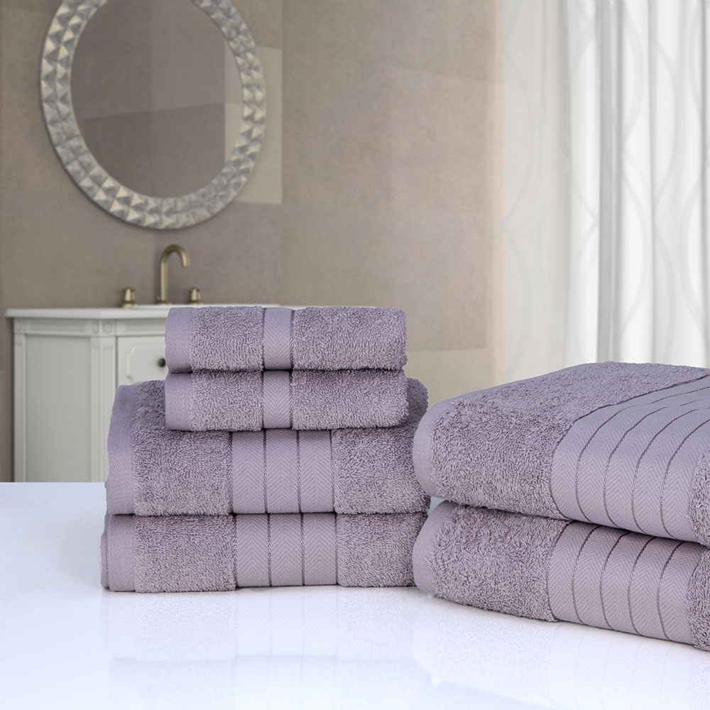 Dreamscene-Luxury-100-Cotton-Face-Hand-Bath-6-Piece-Bathroom-Towel-Bale-Set-NEW