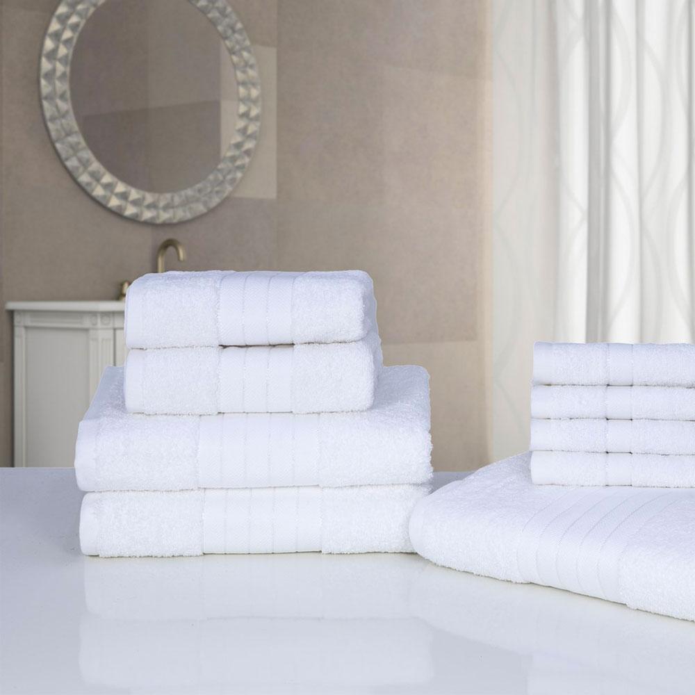 luxus 100% Ägyptische baumwolle 9 teile badezimmer handtuch bündel, Badezimmer ideen