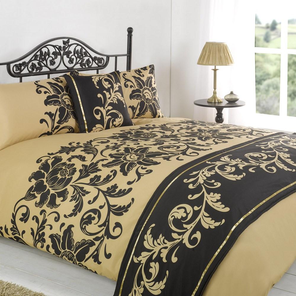 100 duvet bed in a bag sets gold down alternative comforter