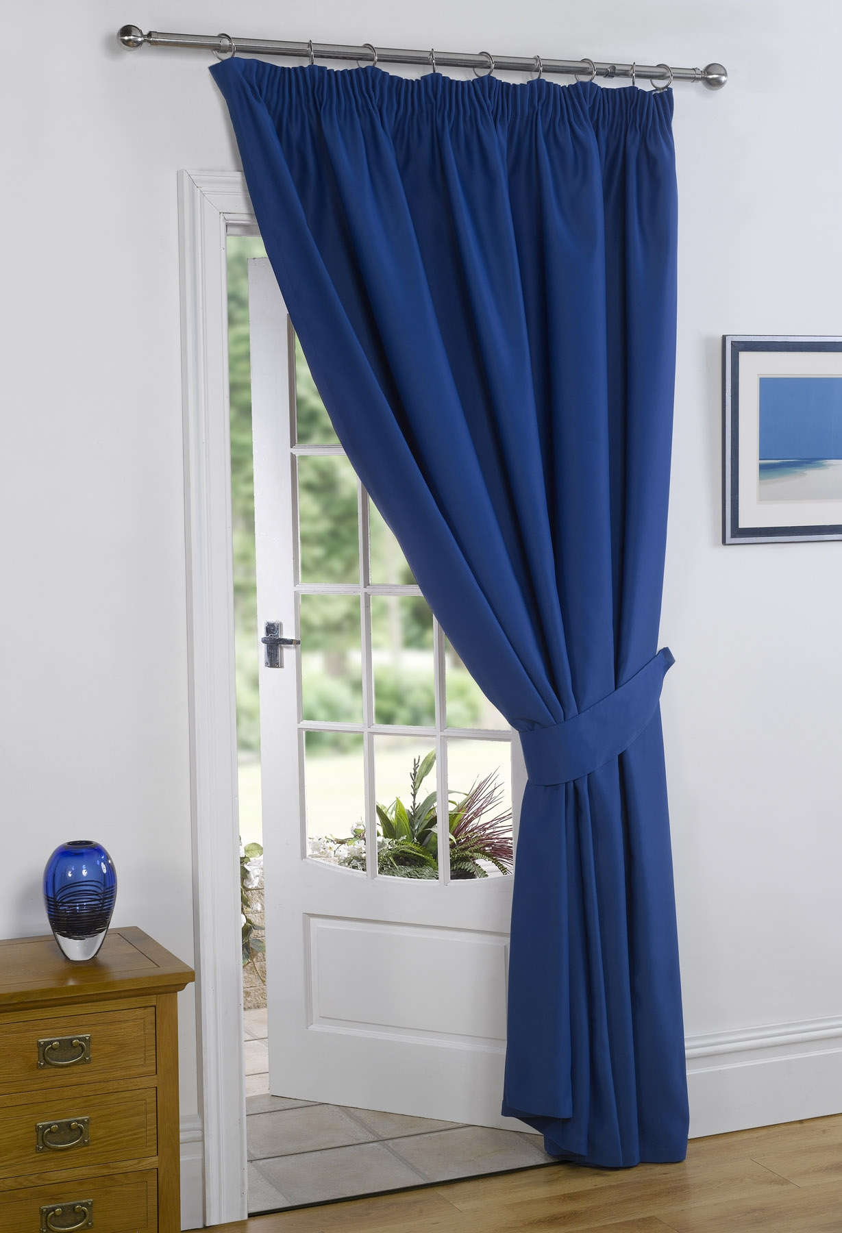 curtains roy pack royal white of window blue panels stripe cur grommet chrome cabana blackout with insulated treatment products thermal