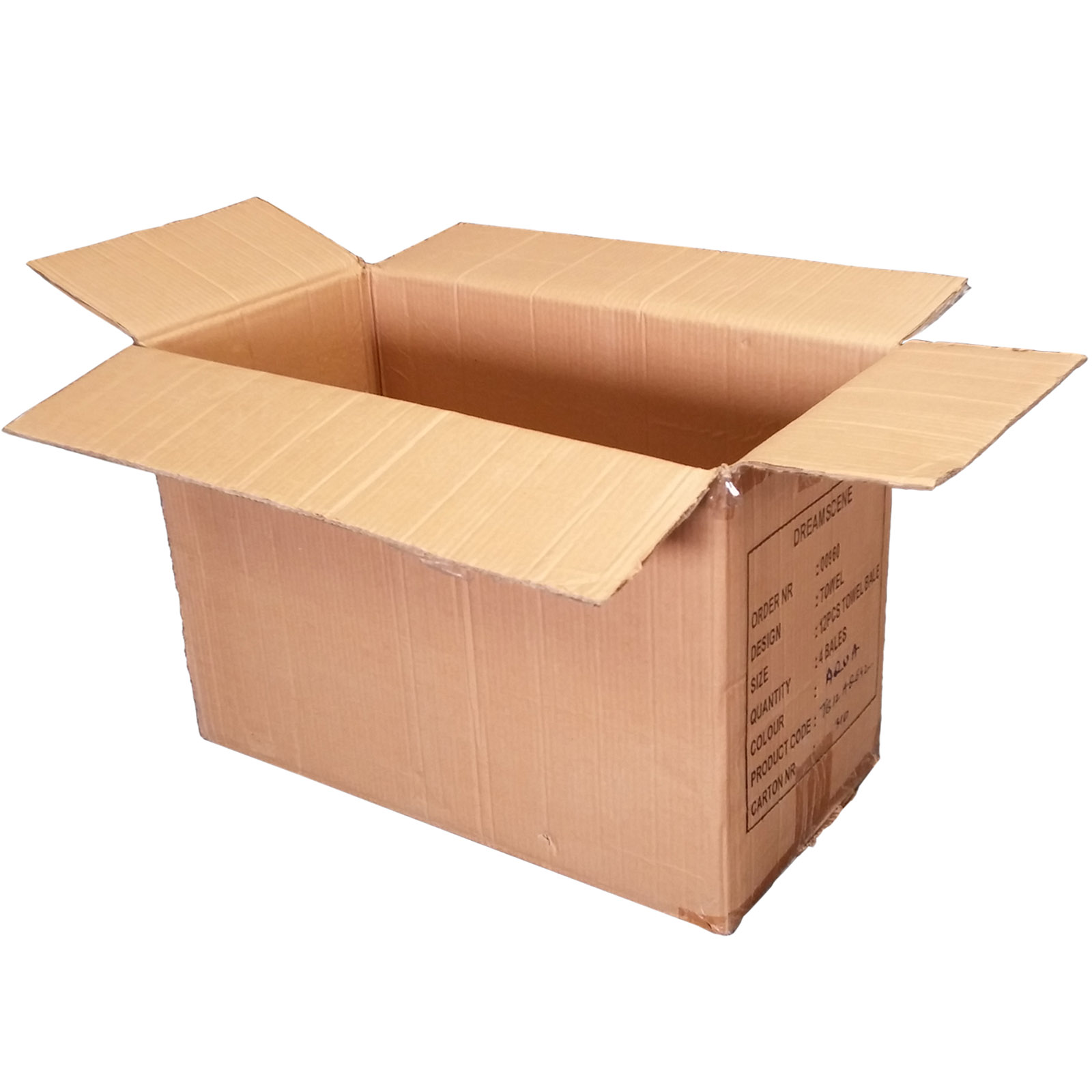 Cardboard storage box 20
