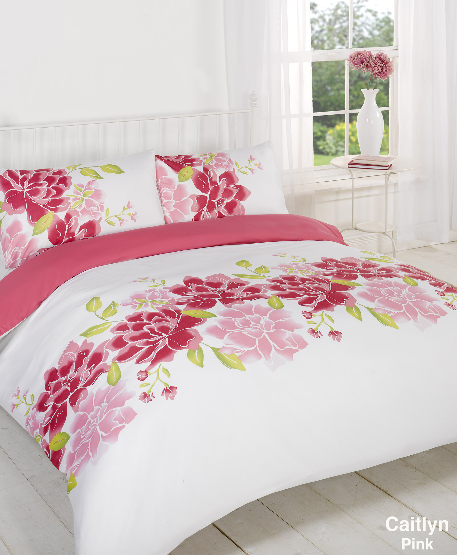 Shop patterned duvet covers and printed duvet covers in pretty florals, fun prints or stripes at Garnet Hill. Pink Sterling Mums Hemstitched Supima® Percale Bedding Double and Queen Sets include 1 flat sheet, 1 fitted sheet and 2 standard cases. King Set includes 1 flat sheet, 1 fitted sheet and 2 king cases. Additional cases may be.