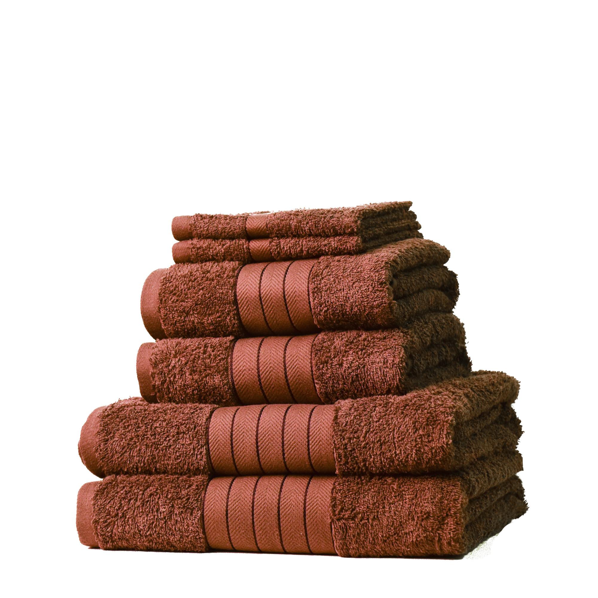 Dreamscene-Luxury-100-Cotton-Face-Hand-Bath-6-Piece-Bathroom-Towel-Bale-Set-NEW thumbnail 35