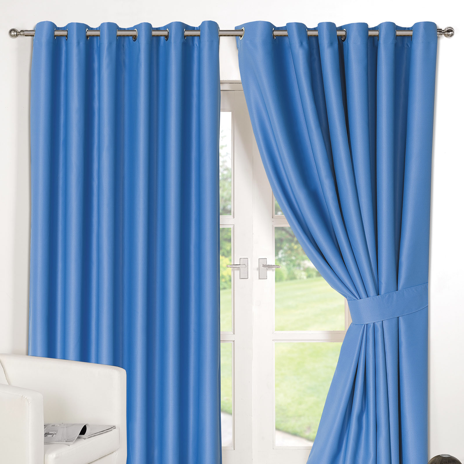walmart royal mainstays panel curtain blue set of com sailcloth blackout ip curtains
