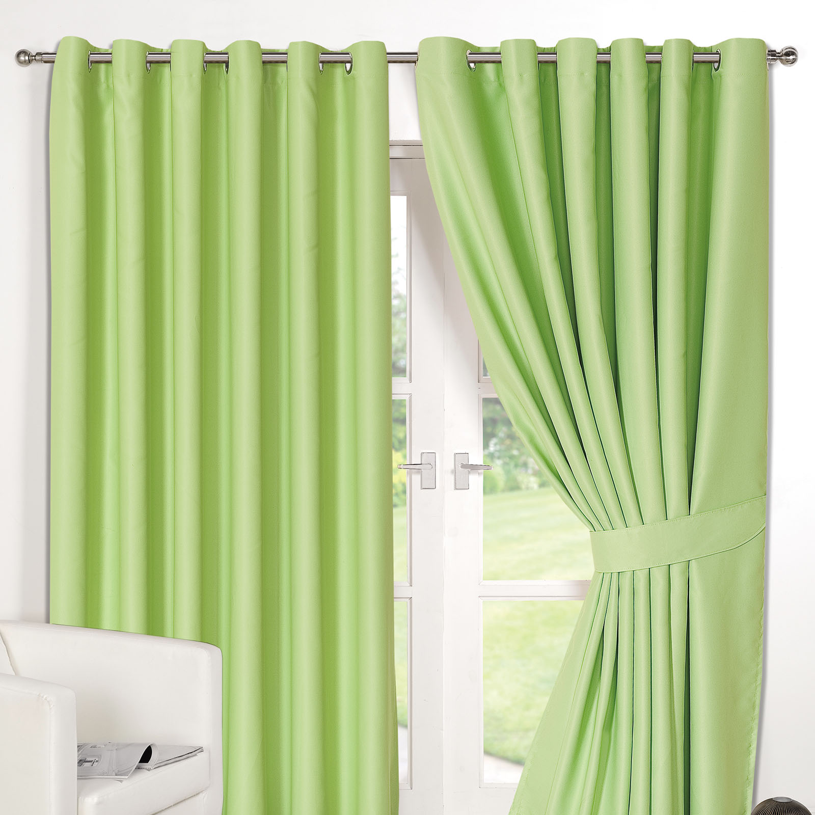 curtains curtain product hanover aqua made eyelet ready online readymade