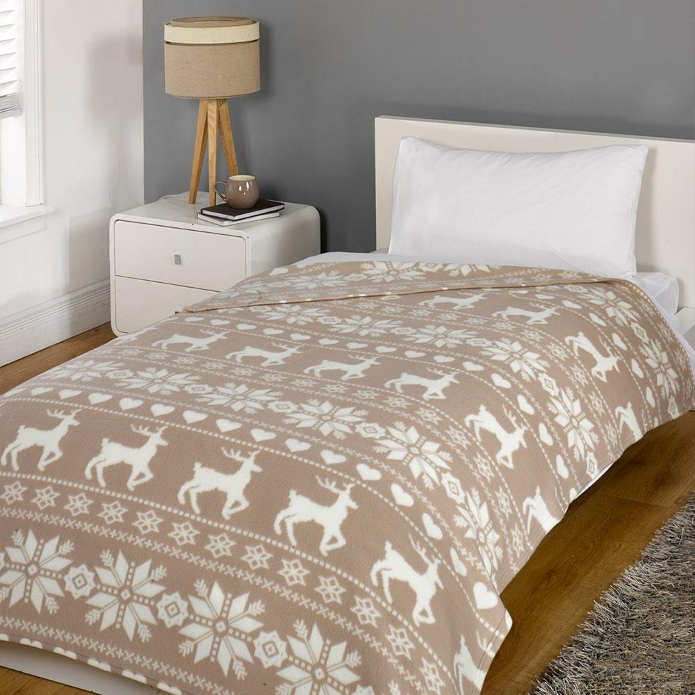Dreamscene warm soft plain fleece throw over large decorative sofa bed blanket ebay - Decorative throws for furniture ...