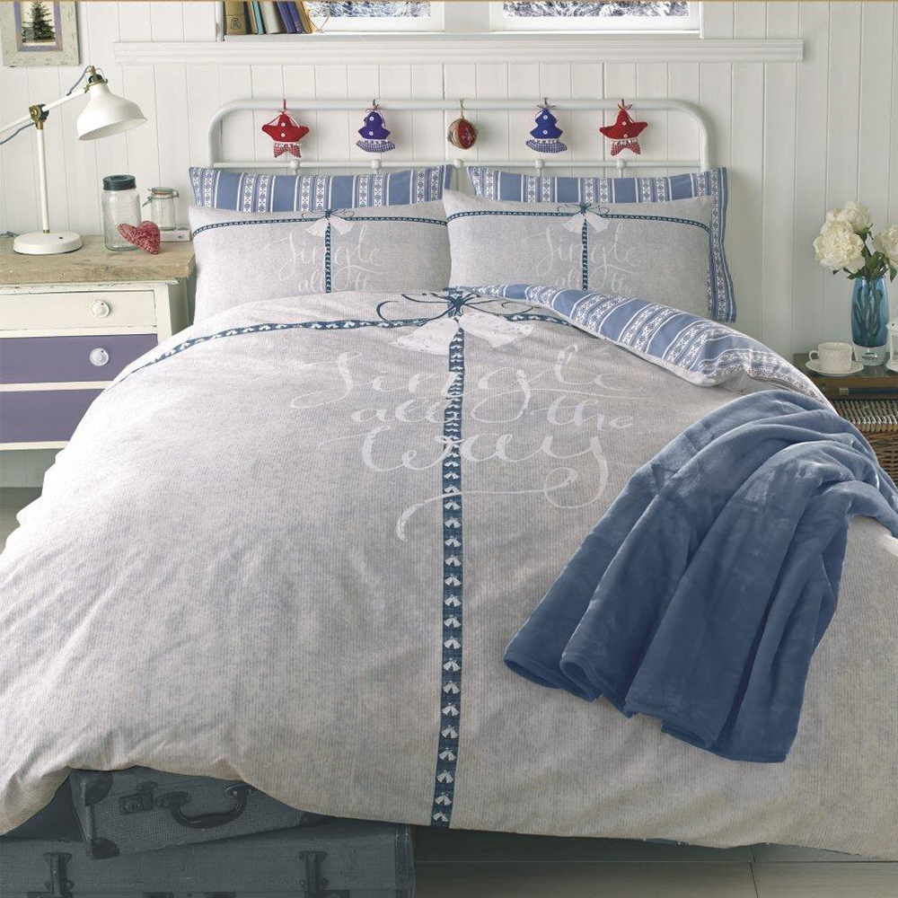 Dreamscene Duvet Cover With Pillowcase Polycotton Bedding Set Single