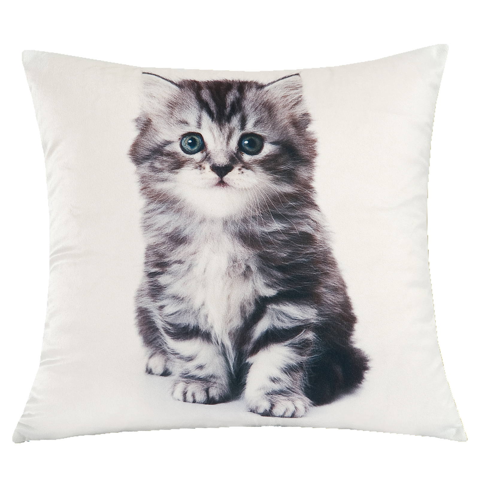 Throw Blanket And Decorative Pillow Set : Kitten Duvet Cover with Pillow Case Bedding Set Blanket Throw Cushion Cat Gift eBay