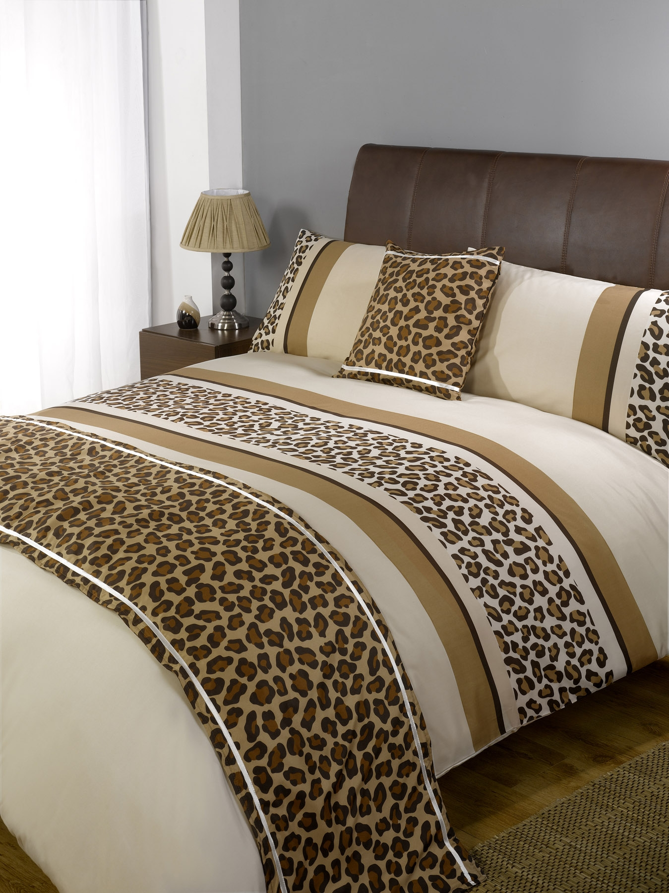 Duvet Quilt Bedding Bed In A Bag Chocolate Single Double