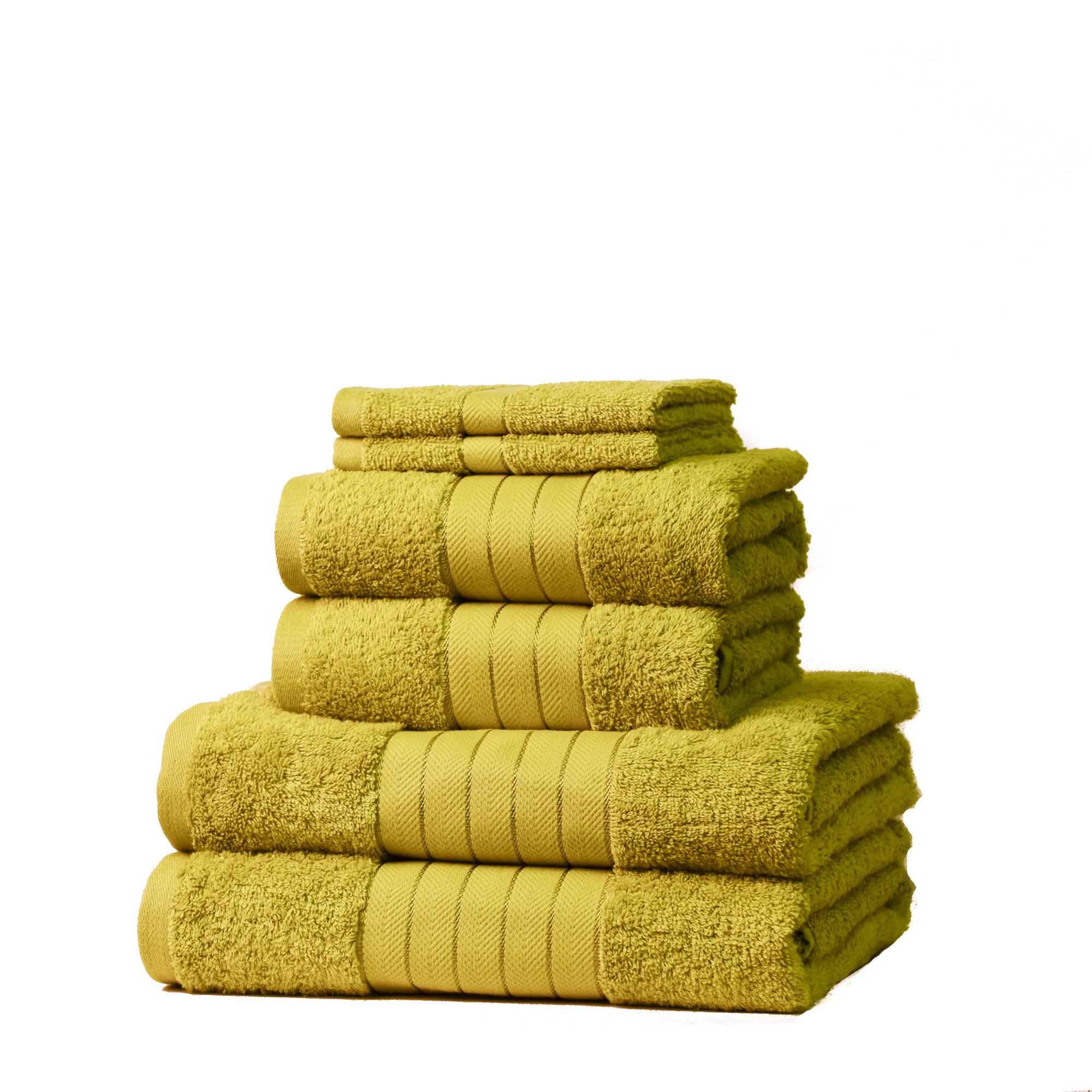 Dreamscene-Luxury-100-Cotton-Face-Hand-Bath-6-Piece-Bathroom-Towel-Bale-Set-NEW thumbnail 36