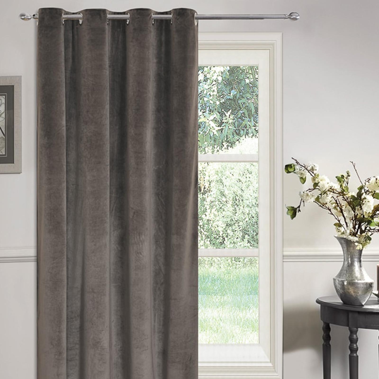 matte samt voll gef ttert se vorhang t rverkleidung pl sch 137cm breit x ebay. Black Bedroom Furniture Sets. Home Design Ideas