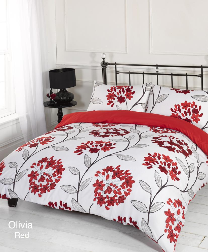 product quilt range duvet bedding set cover alexandra linens red