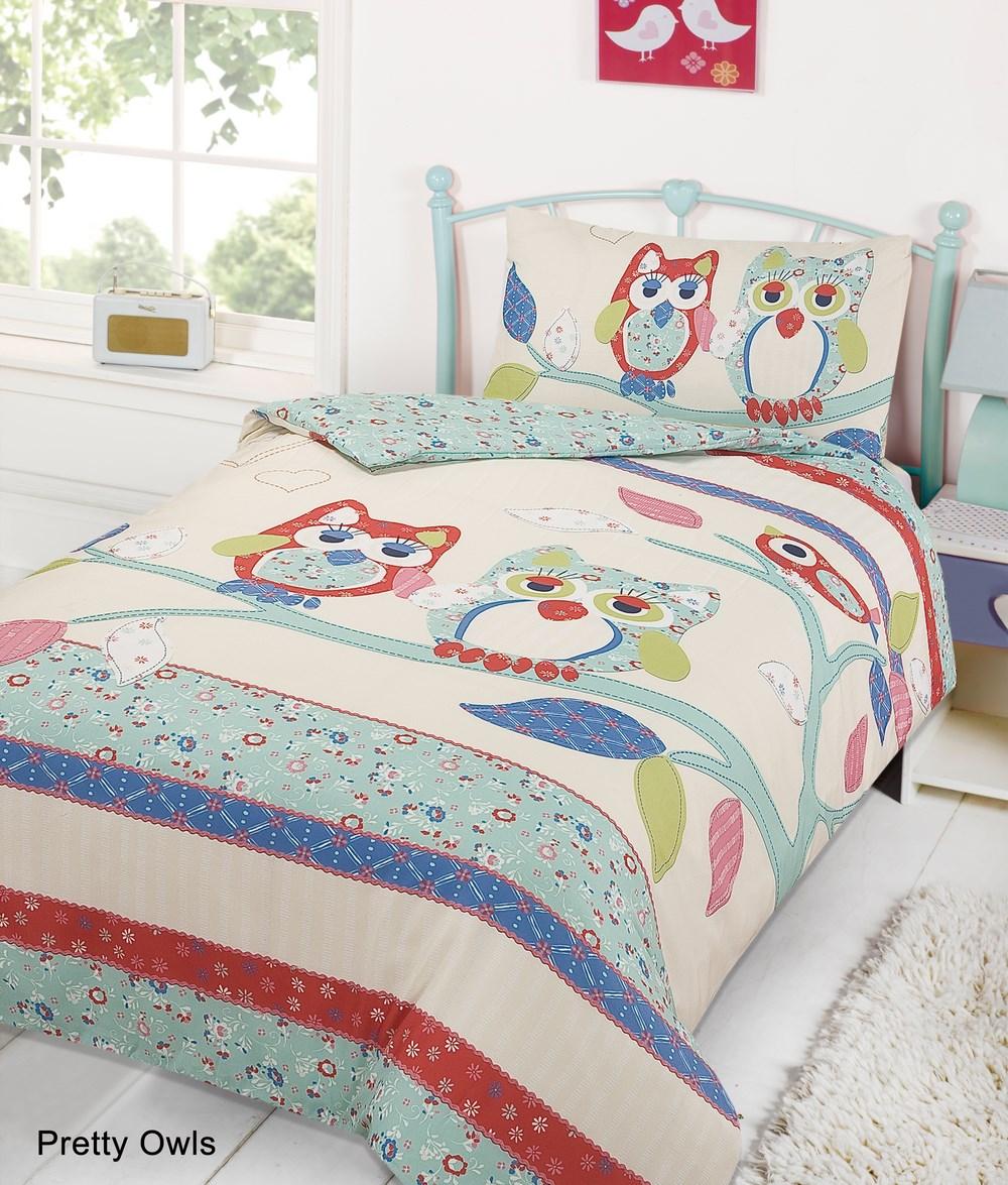 Kids Childrens Quilt Duvet Cover with Pillow Case Bedding Set ... : double size quilt - Adamdwight.com