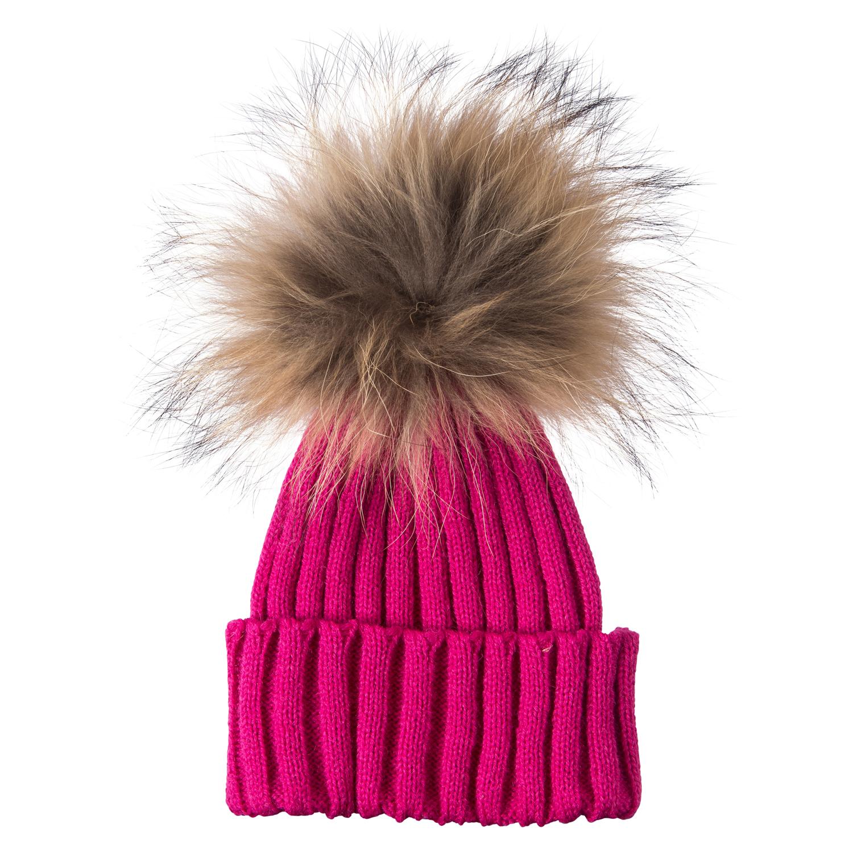 Baby Fur Pom Pom Hat Ebay. Women Ladies Farmed Raccoon Fur Pom Pom Hat  Diamante Warm ... 53346f043808