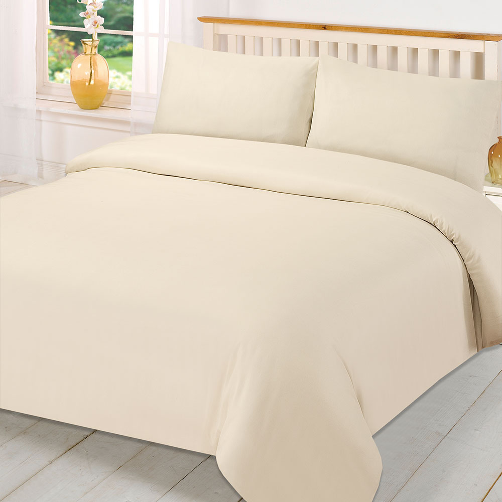 Plain-Dyed-Duvet-Cover-Quilt-Bedding-Set-With-Pillowcase-Single-Double-King-Size
