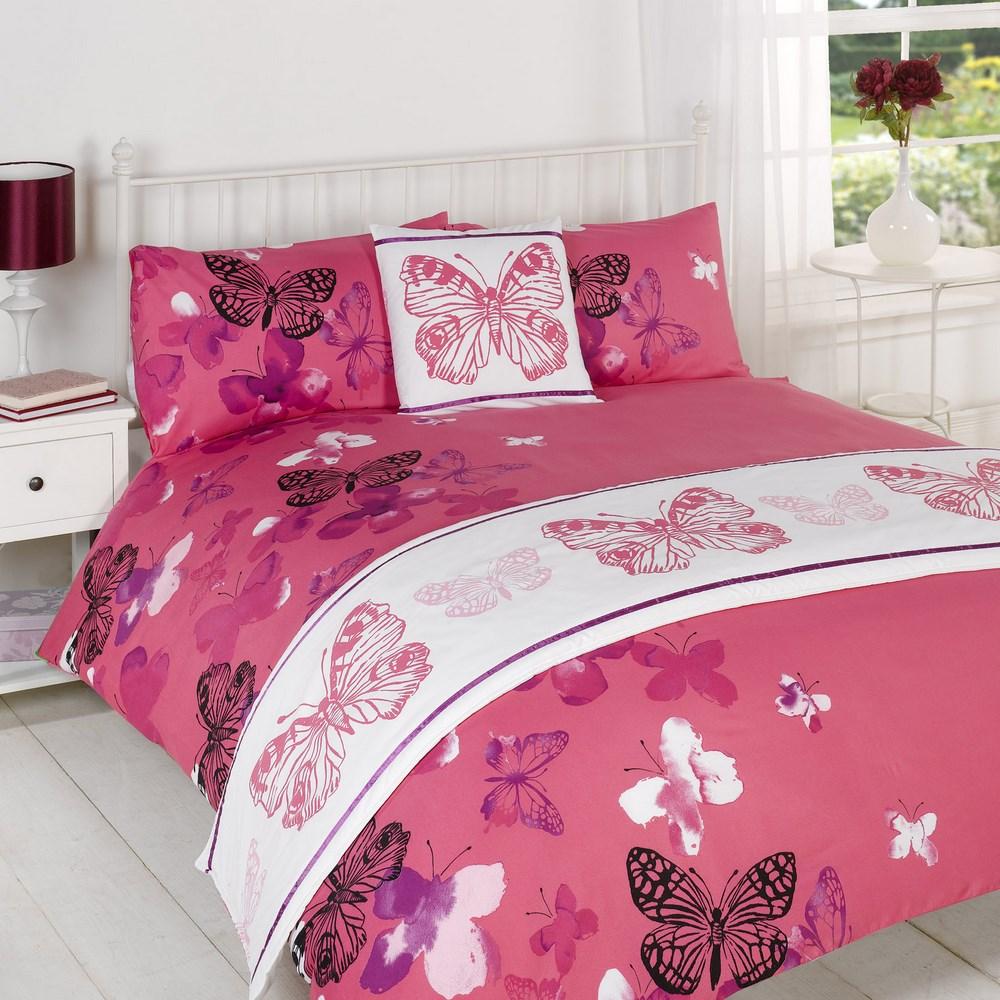 edred n colcha ropa de cama juego rosa individual doble king size super ebay. Black Bedroom Furniture Sets. Home Design Ideas