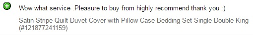 Quality Bedding seller