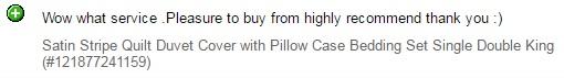 Quality Bedding seller