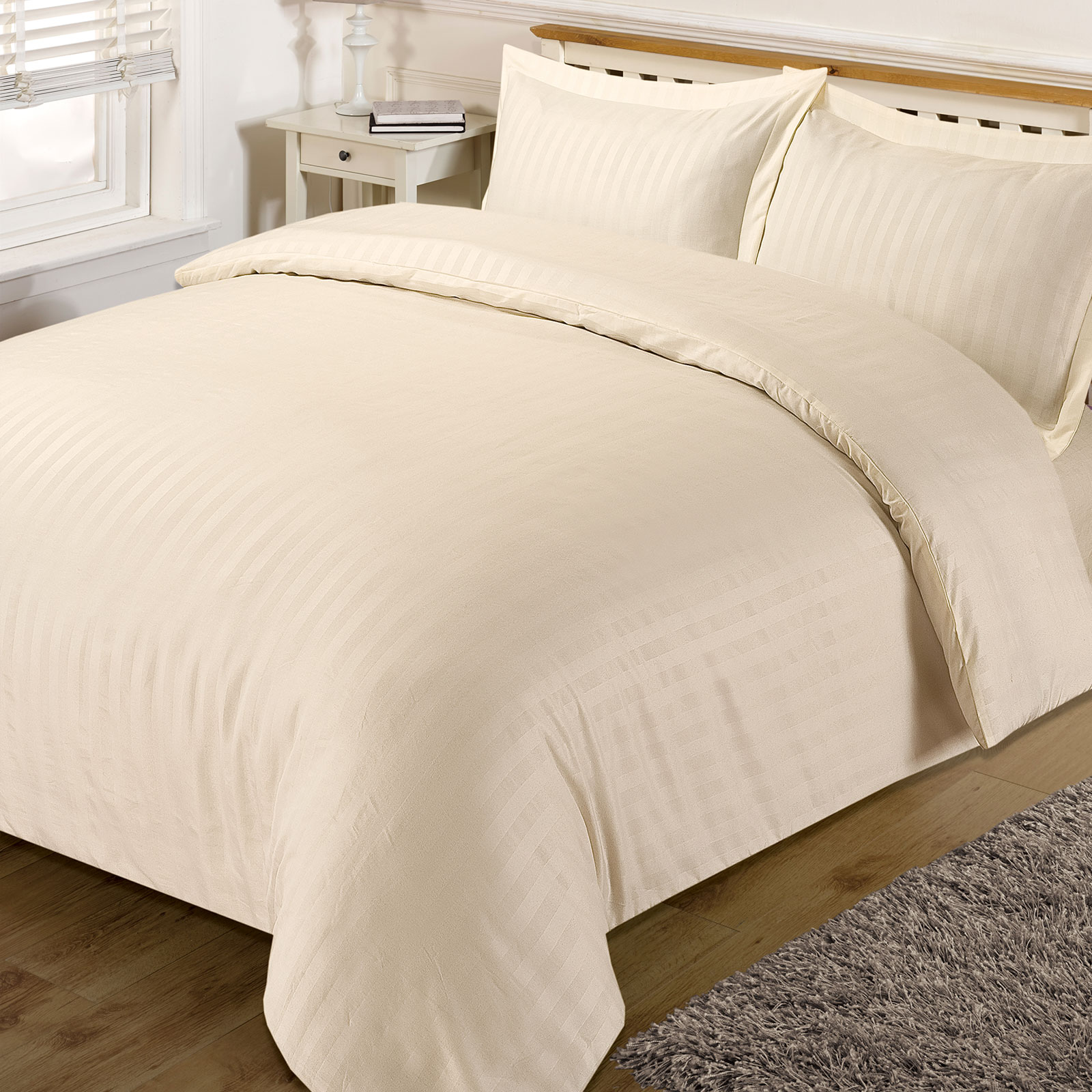 Cream King Size Bedding