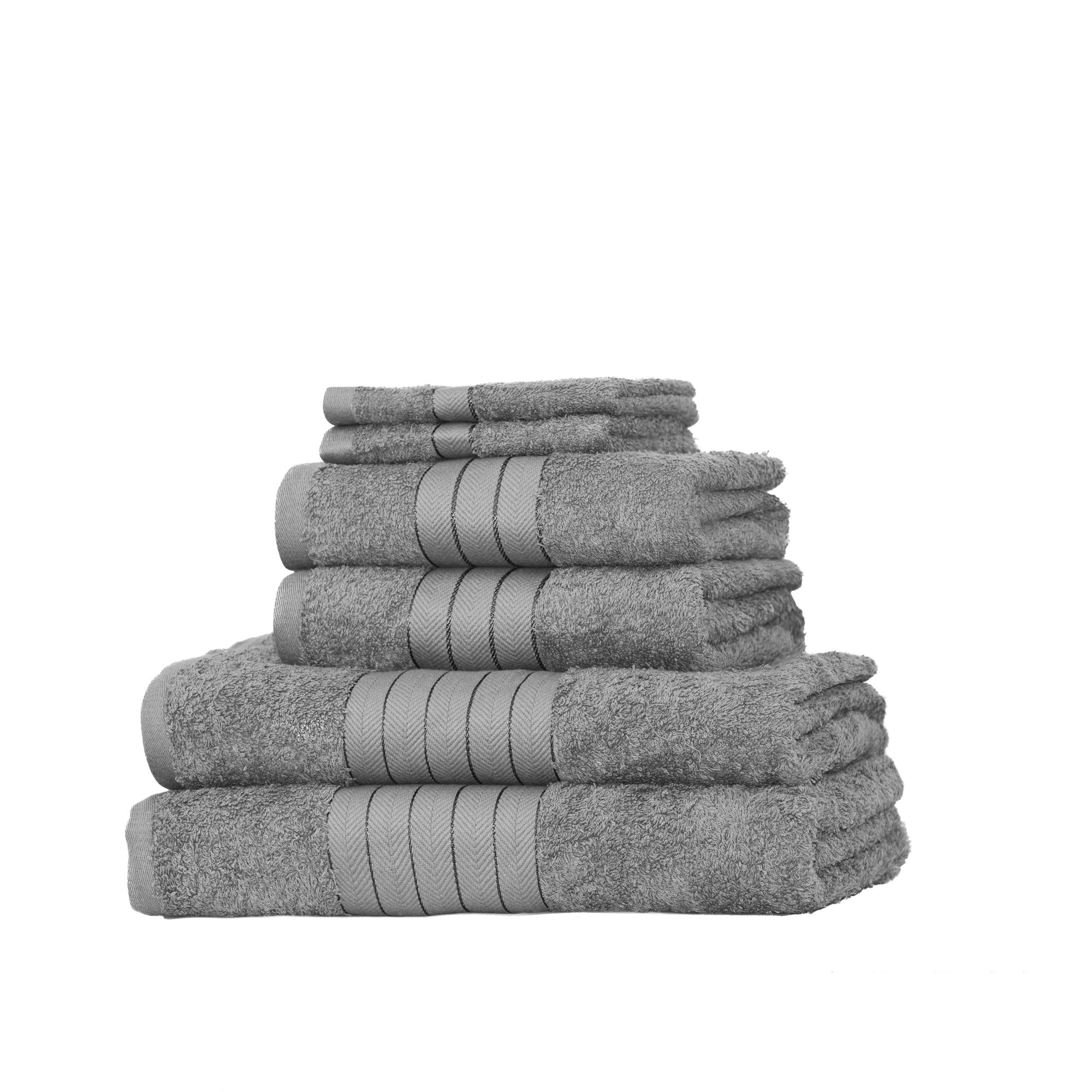 Dreamscene-Luxury-100-Cotton-Face-Hand-Bath-6-Piece-Bathroom-Towel-Bale-Set-NEW thumbnail 29